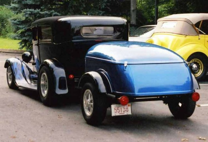Cars With Cool Custom Trailers | Vehicles