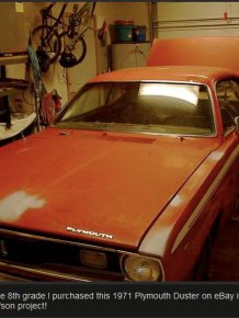 Plymouth Duster Goes From Hunk Of Junk To Award Winning Car