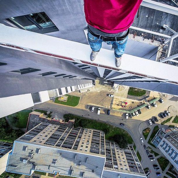 Selfies Taken In Extreme Environments