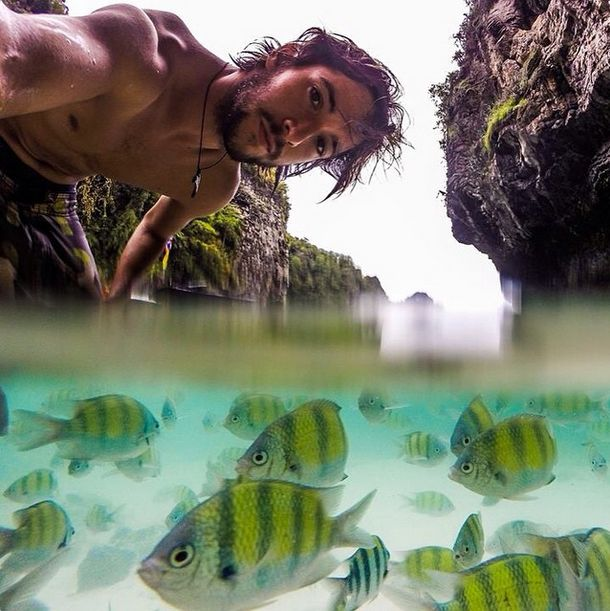 Selfies Taken In Extreme Environments