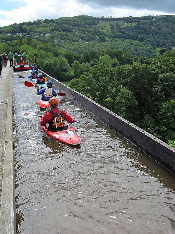 Take A Ride On The Pontcysyllte Aqueduct