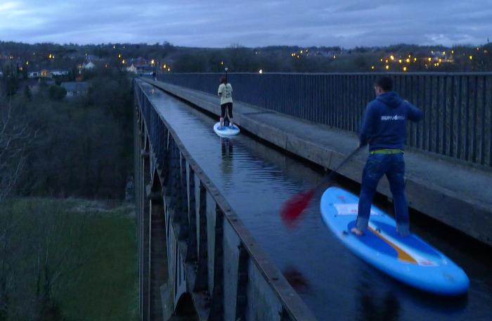Take A Ride On The Pontcysyllte Aqueduct