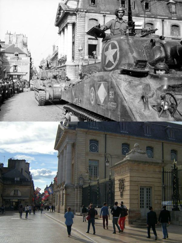 How Dijon, France Has Changed Over The Past 70 Years