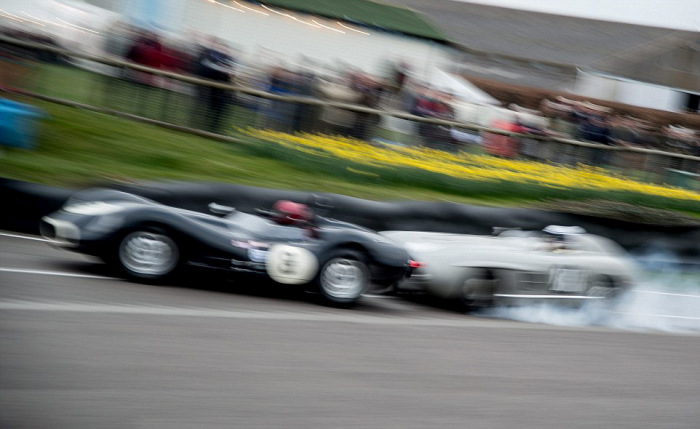 When A Mercedes Collides With A Jaguar