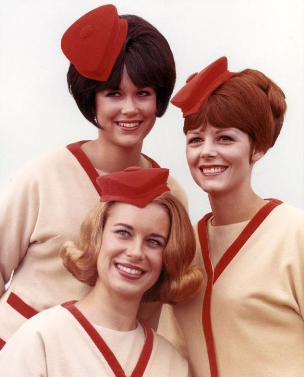 Life of a 60's flight attendant