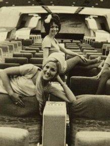Life of a 60's flight attendant
