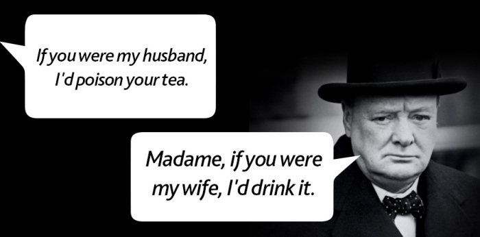 20 Great Zingers And Comebacks From The Mouths Of Historical Figures