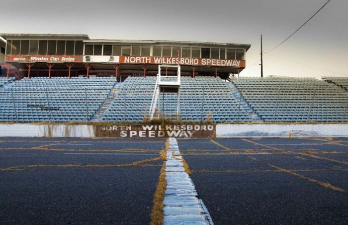 An Inside Look At An Abandoned NASCAR Track