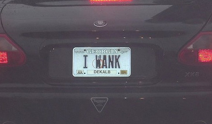 License Plates That Are A Little Too Honest