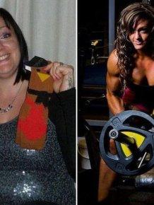 Overweight Mother Transforms Herself Into Championship Bodybuilder