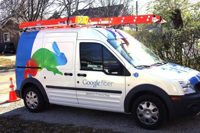 What Google Fiber Looks Like When It's Stripped All The Way Down
