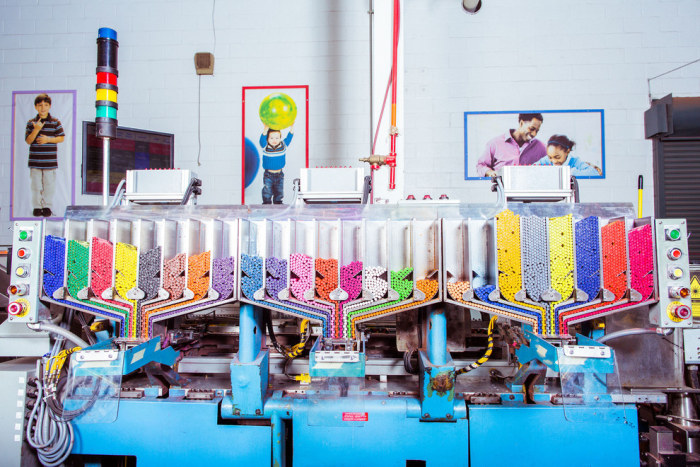 These Pictures Show What Goes On Inside A Crayola Crayon Factory
