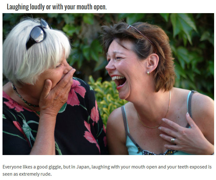 15 Things You Do That Are Considered Rude In Other Countries