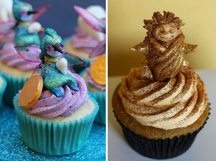 DreamWorks Animator Creates Movie Inspired Cupcakes