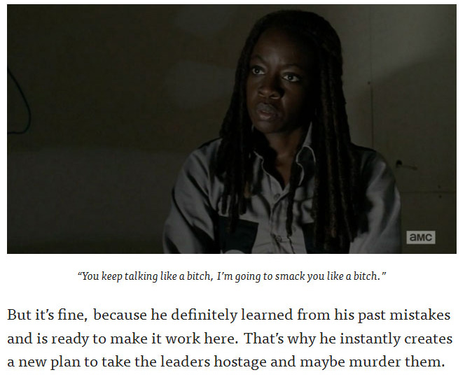 9 Ridiculous Moments From Sunday's 'The Walking Dead' Season Finale