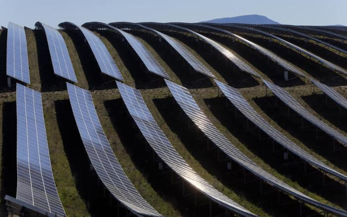 Solar Area In France