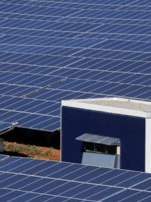 Solar Area In France