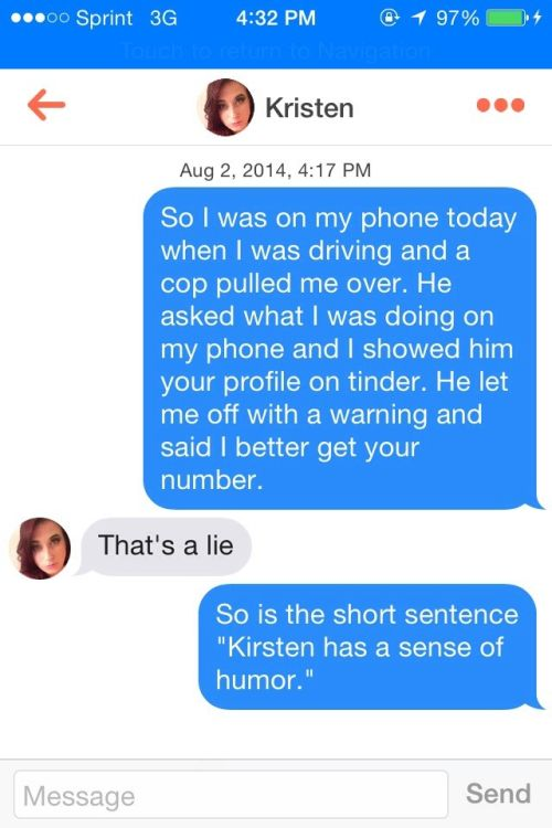Sometimes Talking On Tinder Can Get Really Awkward