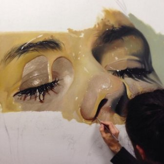Amazing Hyperrealistic Paintings by Mike Dargas