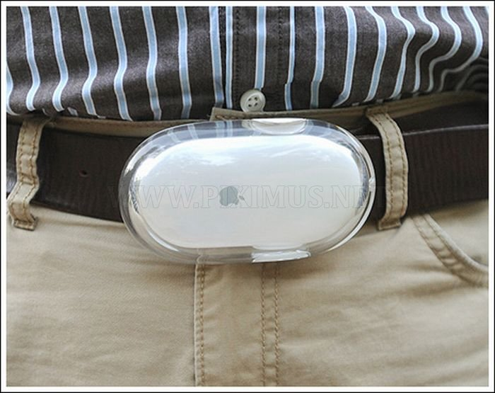 Computer Mouse Belt Buckles