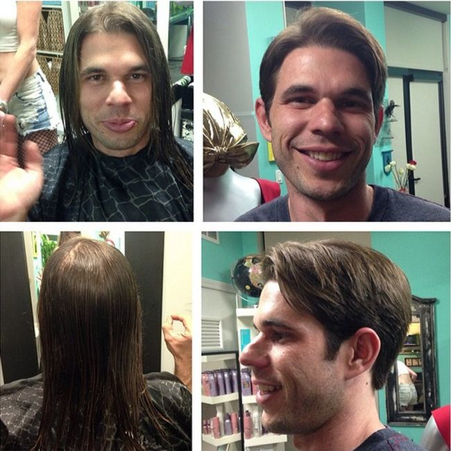What It Looks Like When Men Get Makeovers