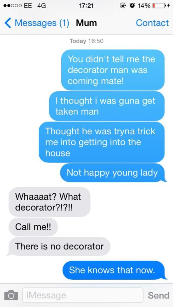 Mother Isn't Happy When Daughter Pulls Cruel Text Prank