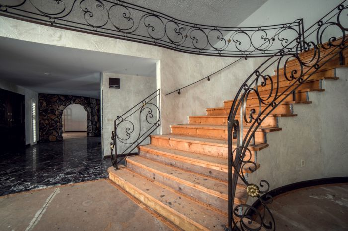 A Look Inside Mike Tyson's Abandoned Party Mansion