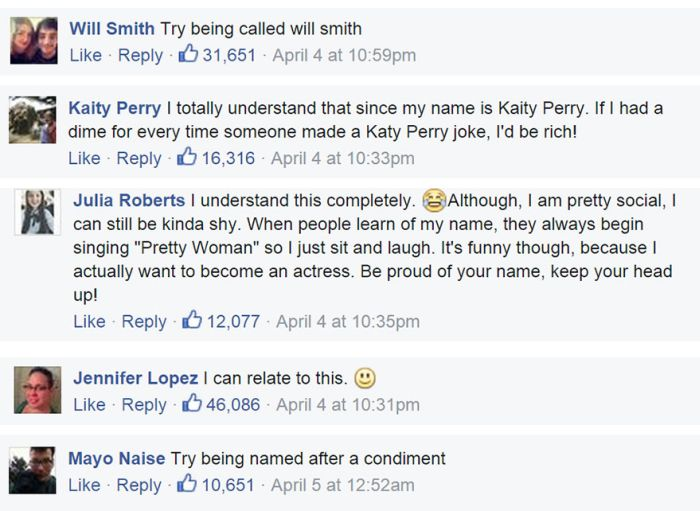 This Is What Happens To People Who Share Their Names With Celebrities