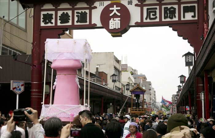 Japan's Festival Of The Steel Phallus Proves Size Does Matter