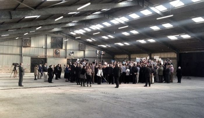 David Cameron Had A Huge Turnout At His Election Rally, Or Did He?