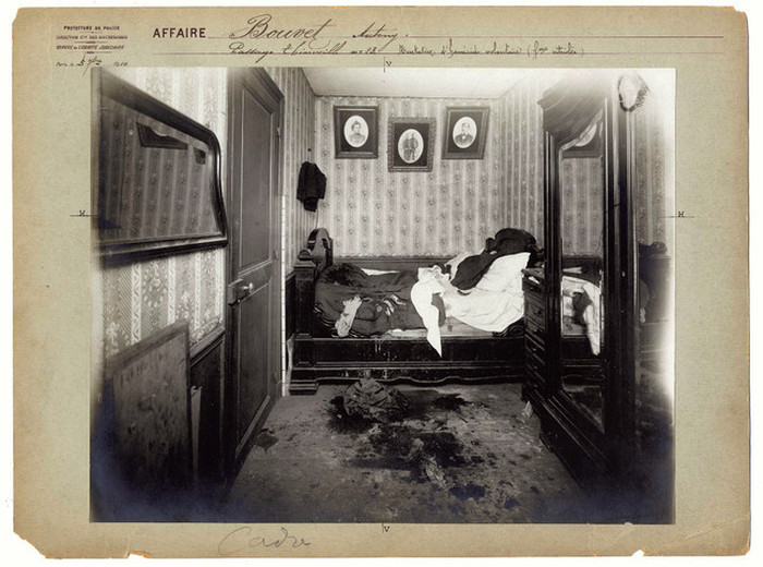 Vintage Crime Scene Photos From Back In The Day