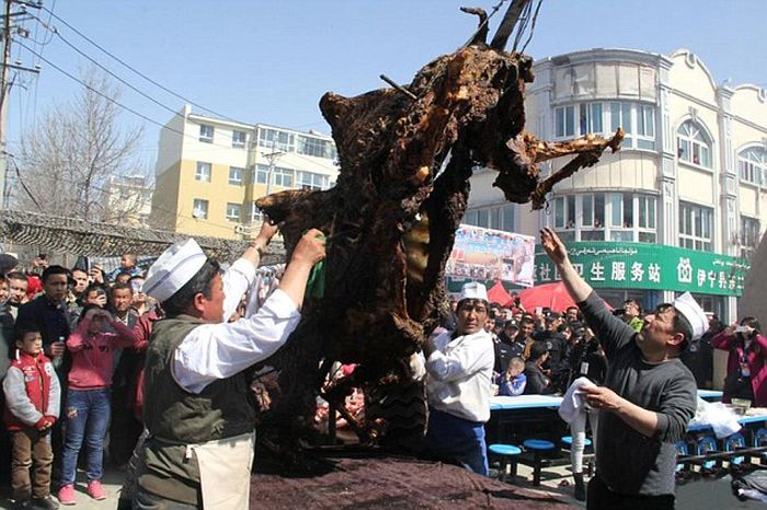 Full Camel In A Giant Oven