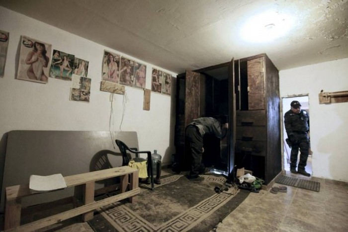 Secret Wardrobe Tunnel Leads To Drug Ring
