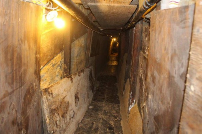 Secret Wardrobe Tunnel Leads To Drug Ring