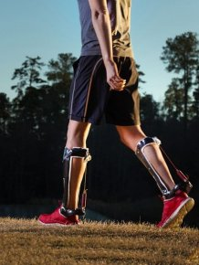 New Exoskeleton Makes Running A Lot Easier