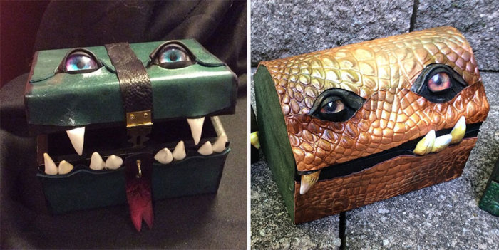 These Monster Boxes Will Keep Everyone Away From Your Luggage