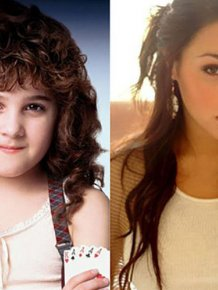 Famous Child Actresses Back In The Day And Today