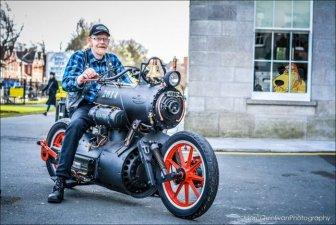 Revatu Customs Built An Epic Looking Steam Powered Motorcycle