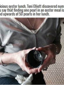 Lucky Woman Finds A Fortune Hidden Inside Her Lunch