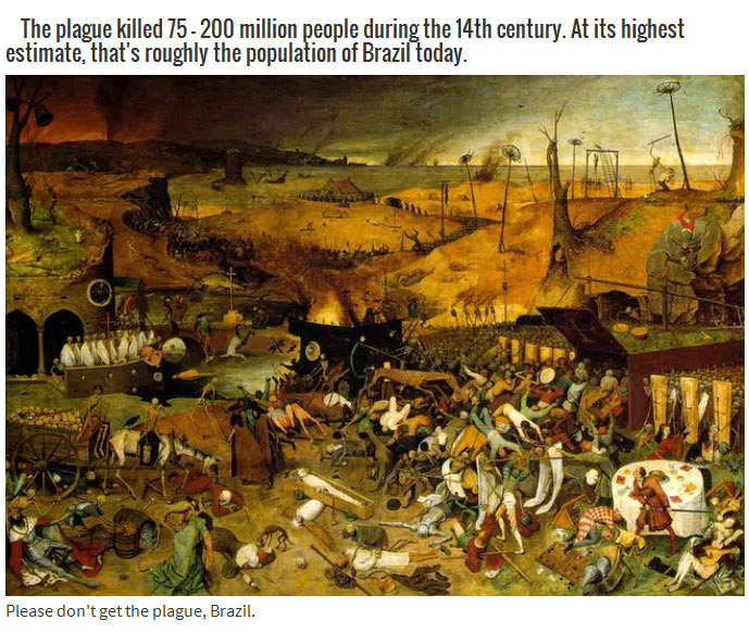 Eerie Facts About The Bubonic Plague
