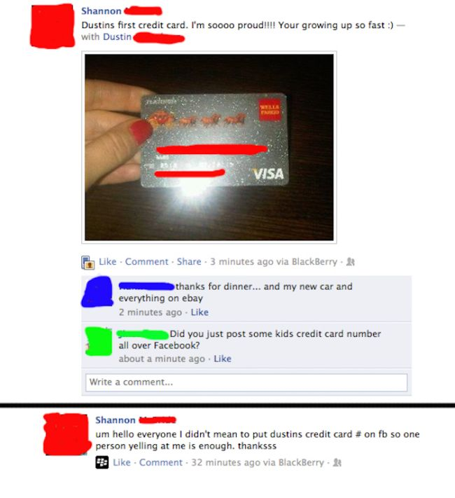 These People Definitely Shouldn't Have Credit Cards