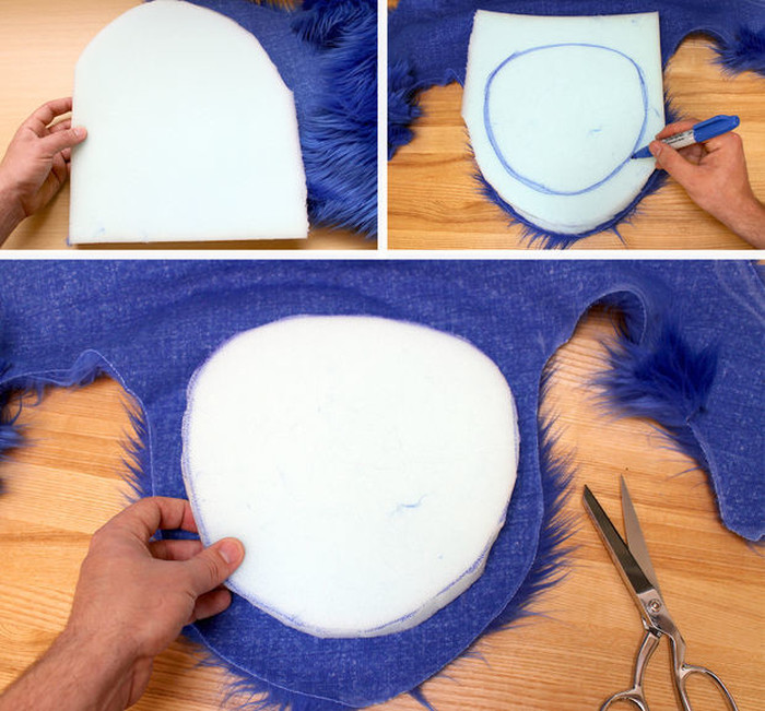 How To Make Your Very Own Cookie Monster Rug