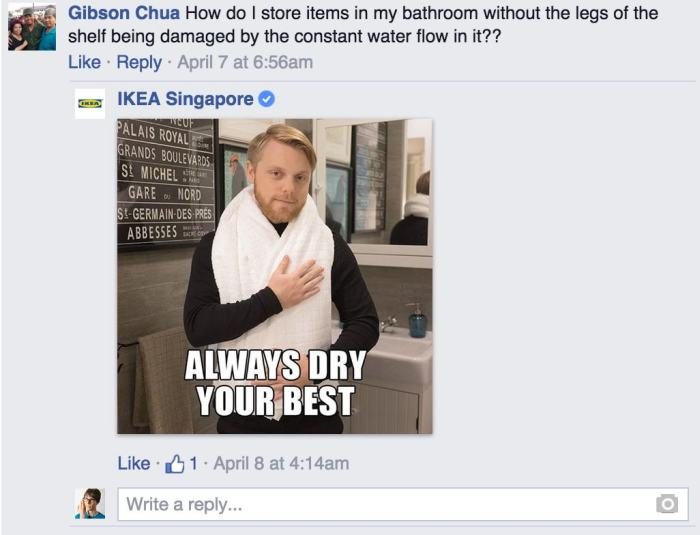 Ikea Has The Best Responses To Customer Questions On Facebook