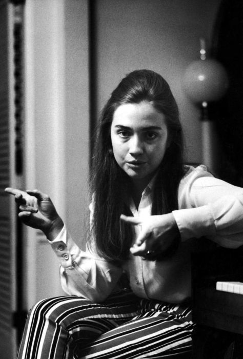Young Hillary Clinton A Vintage   Of Celebrities Photos