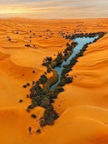 Ubari Is An Incredible Oasis In The Sahara Desert