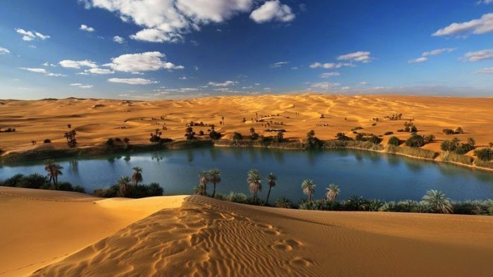 Ubari Is An Incredible Oasis In The Sahara Desert | Others