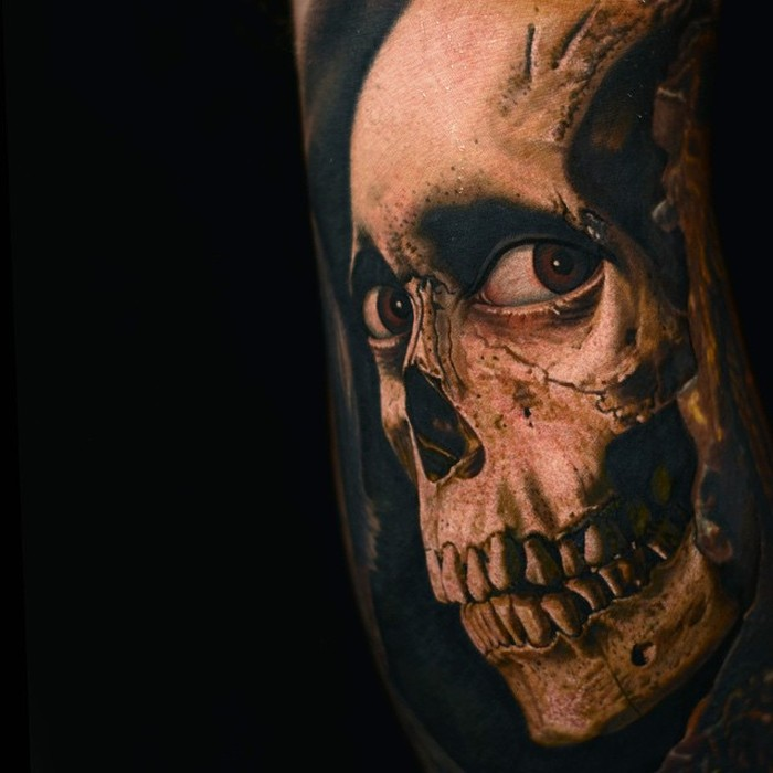 Nikko Hurtado Brings Movie Characters To Life With Amazing Tattoo Art