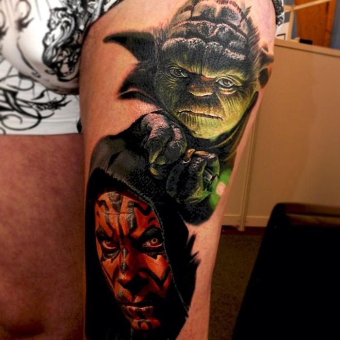 Nikko Hurtado Brings Movie Characters To Life With Amazing Tattoo Art