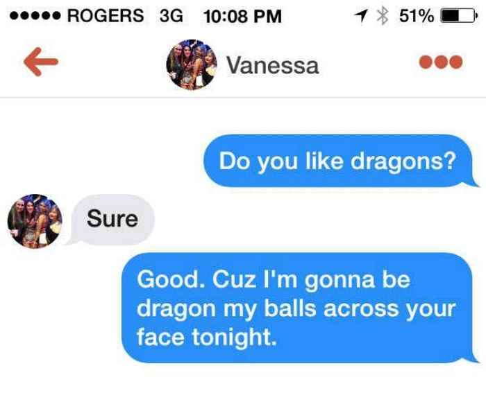 People Who Just Got Straight To The Point On Tinder