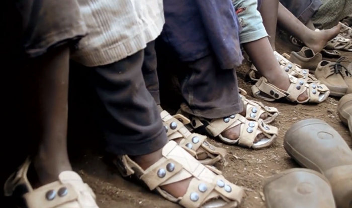 Man Invents Shoes That Grow 5 Sizes In 5 Years